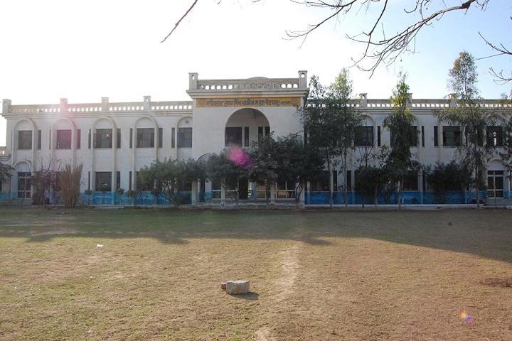 Sahibzada Jujhar Singh Public School-School Building