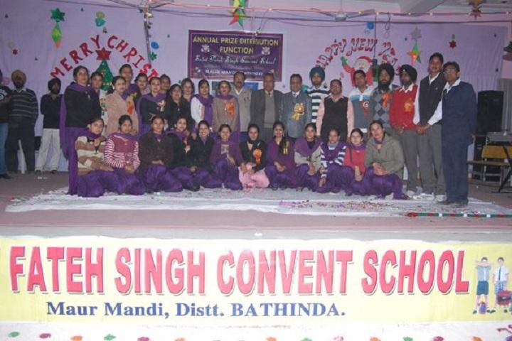 Saint Fateh Singh Convent School-Annual Prize Distribution