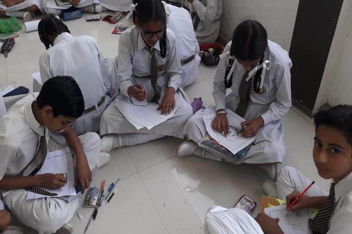 Saint Fateh Singh Convent School-Art Compitition