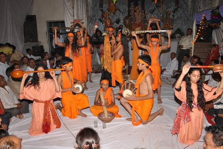Saint Fateh Singh Convent School-Dusserah Celebration