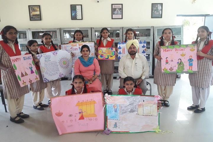 Saint Kabir Convent Day Boarding Senior Secondary School-Drawing Compitition