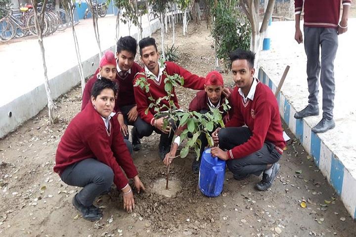 Saint Kabir Convent Day Boarding Senior Secondary School-Plant a Tree Program