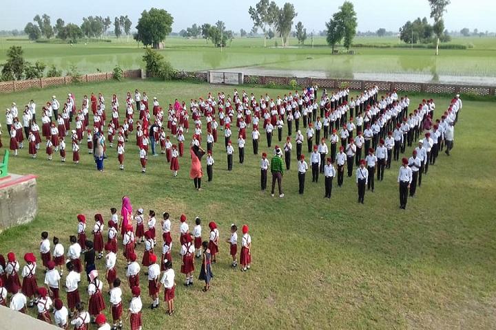 Saint Soldier Public Senior Secondary School-Assembly