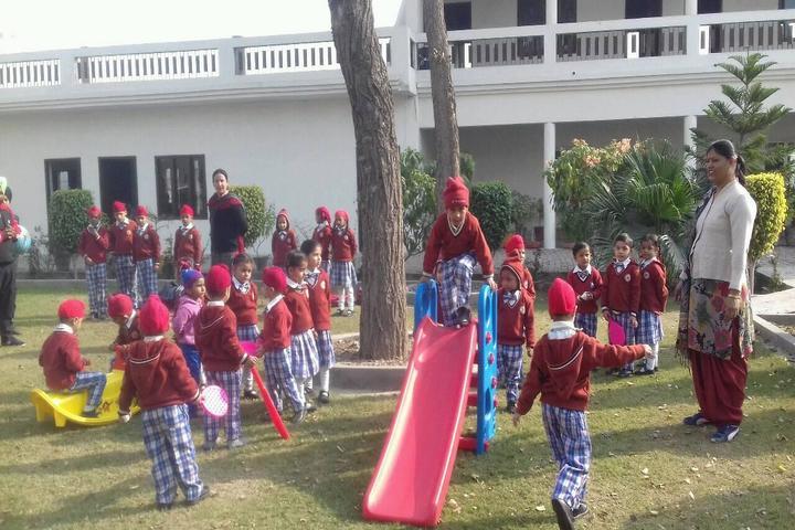 Saint Soldier Public Senior Secondary School-Kids Play Area