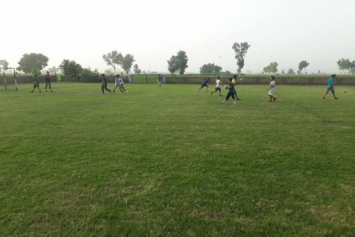 Saint Soldier Public Senior Secondary School-Playground