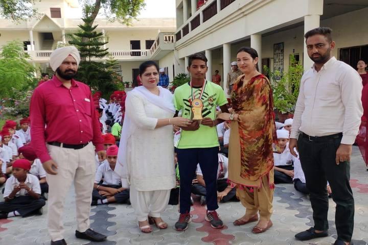 Saint Soldier Public Senior Secondary School-Prize Distribution