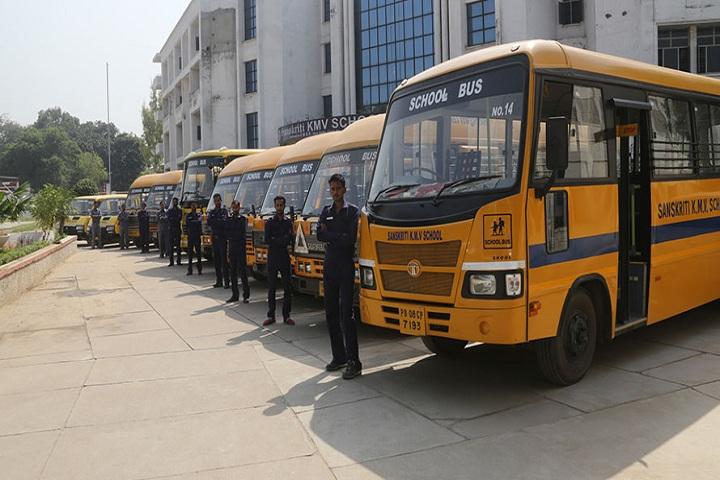 Sanskiriti Kmv School-Transport