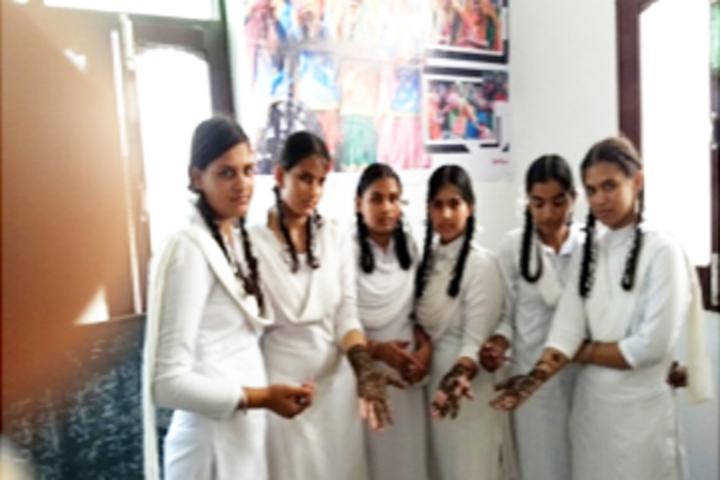 Sant Baba Bhag Singh Memorial Public High School-Mehandi Competition
