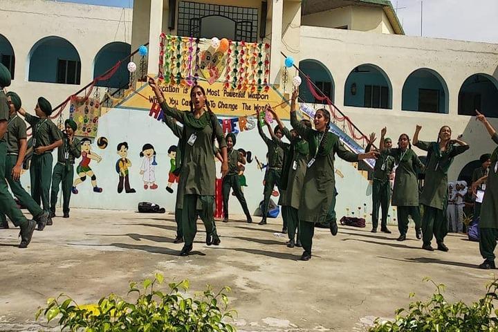 Sant Baba Ranjeet Singh Public Senior Secondary School-Dance