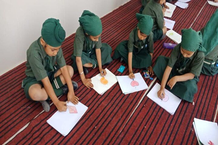 Sant Baba Ranjeet Singh Public Senior Secondary School-Drawing