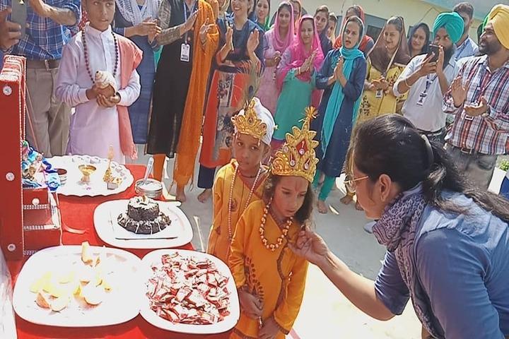 Sant Baba Ranjeet Singh Public Senior Secondary School-Festival Celebrations