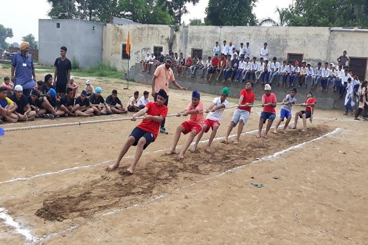 Sant Baba Ranjeet Singh Public Senior Secondary School-Games