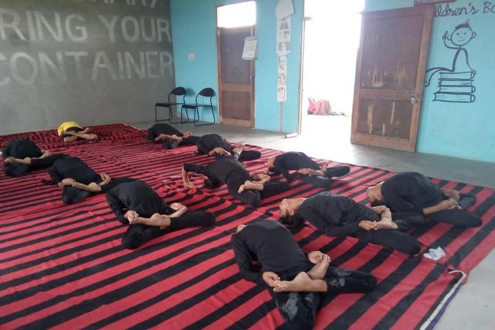 Sant Baba Ranjeet Singh Public Senior Secondary School-Yoga