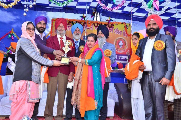 Sant Giani Gurbachan Singh Ji-Prize Distribution