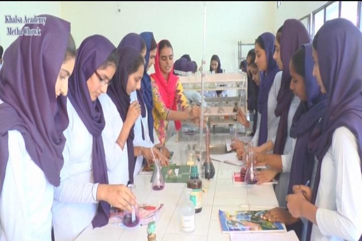 Sant Giani Gurbachan Singh Ji-Chemistry lab