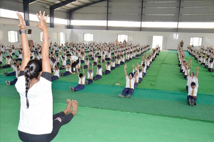 Sant Ishar Singhji Memorial Public School-yoga