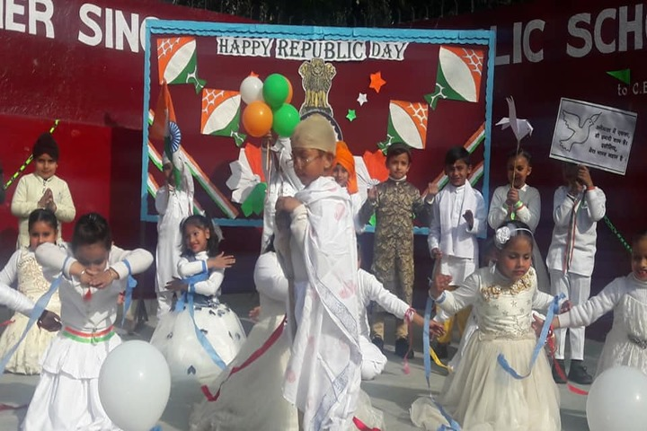 Sant Isher Singh Public School-Republic Day