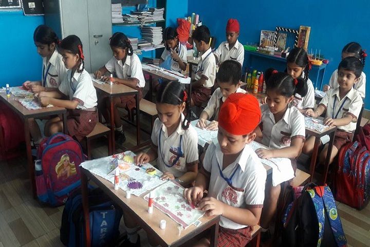 Sant Isher Singh Public School-Art and Craft