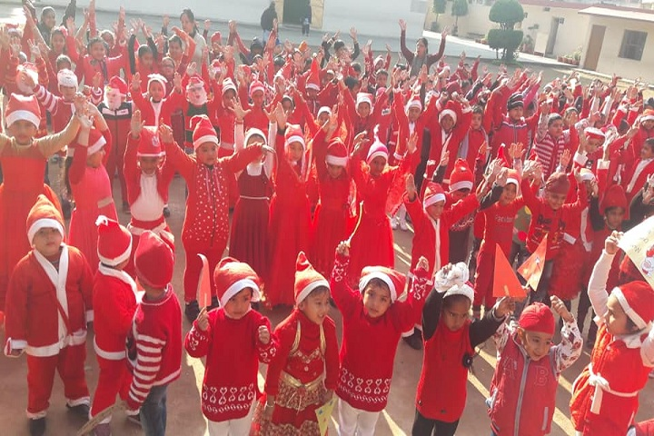 Sant Isher Singh Public School-Christmas Celebrations