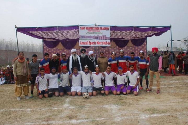 Sant Karam Singh Academy-Sports day