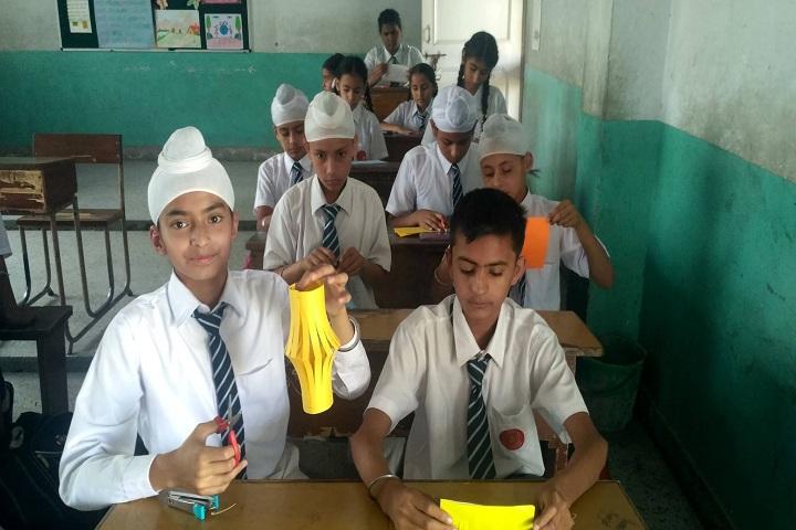 Sant Kirpal Singh Sewa Panthi Public School-classroom