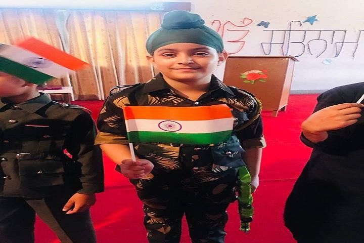 Sant Kirpal Singh Sewa Panthi Public School-independence day