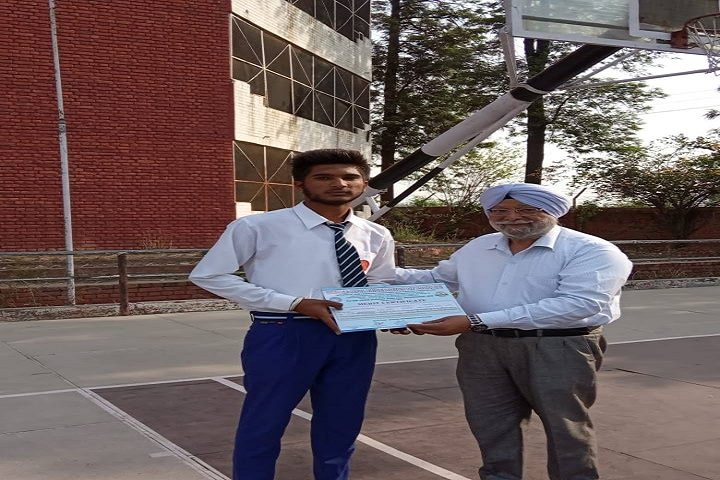 Sant Kirpal Singh Sewa Panthi Public School-merit students
