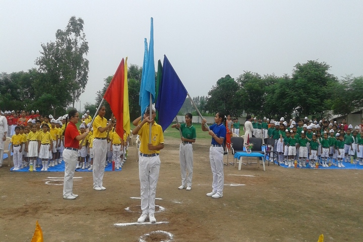 Sapt Sring Public School-Sports Day