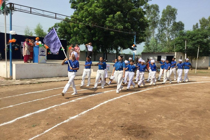 Sapt Sring Public School-independence day parade
