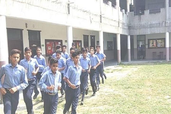 Saransh International School-School Area