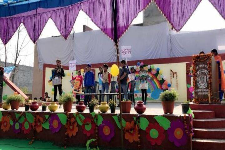 Sarup Public School-Drama