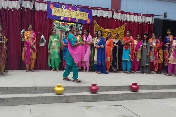 Sarup Public School-Teachers Day