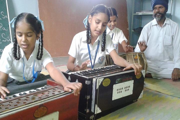Sarup Public School-Music room