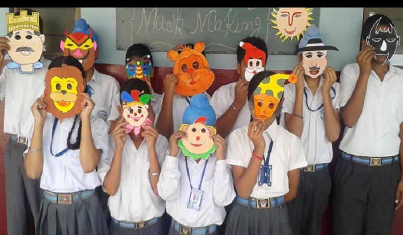 Sarup Public School-Art and Craft