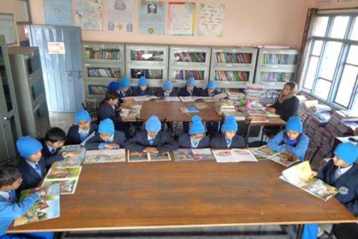 Satluj Public School-Library