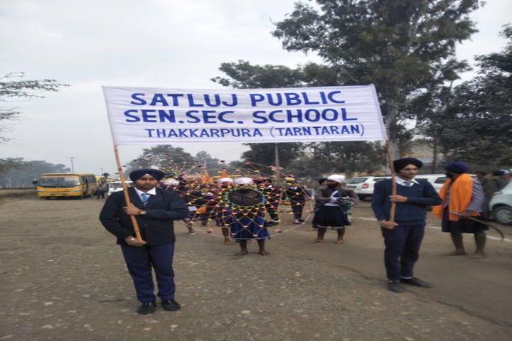 Satluj Public School-Rally