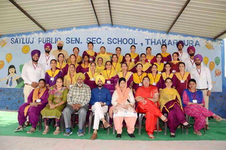 Satluj Public School-Staff