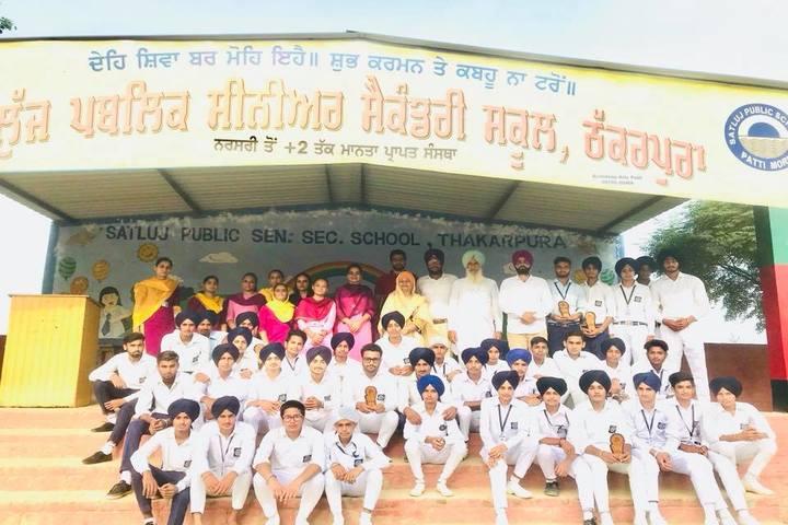 Satluj Public School-Students