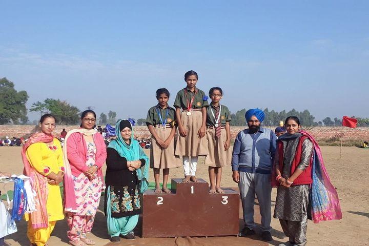 Satluj Public School-Winners
