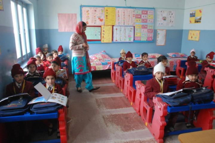 Shah Balwant Rai D A V Public School-Kids Classroom