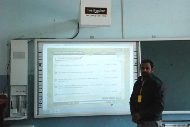 Shah Balwant Rai D A V Public School-Digital Classroom