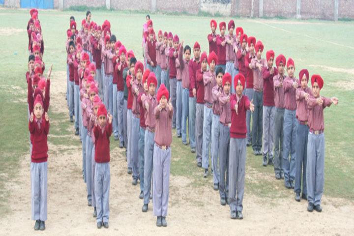 Shaheed Baba Deep Singh Public School-Yoga
