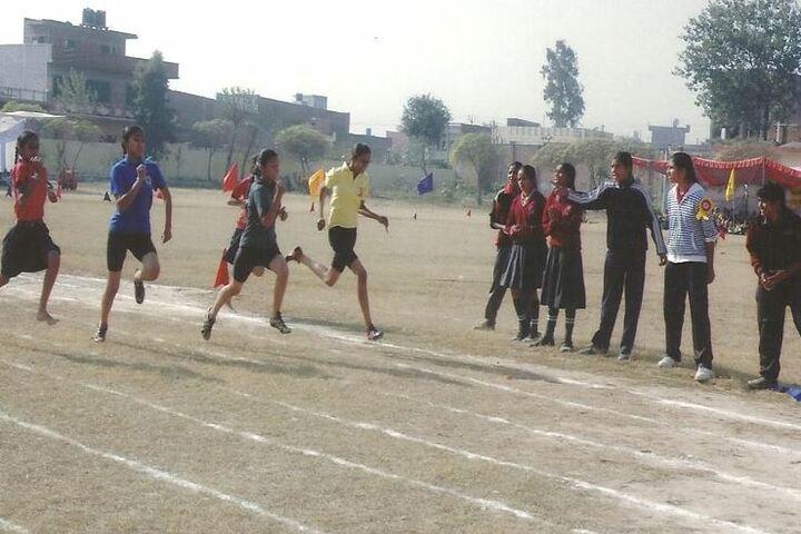 Shaheed Darshan Singh Pheruman Public School-Running Race