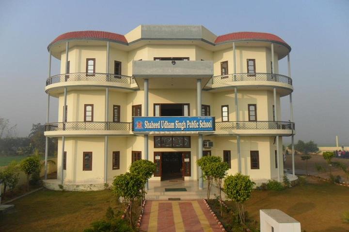 Shaheed Udham Singh Public School-School Building-1