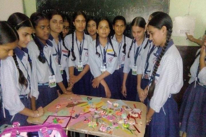 Shanti Vidya Mandir-Rakhi Making Competition