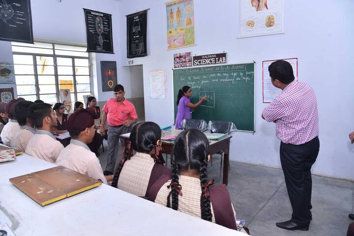 Shishu Model High School-Classroom