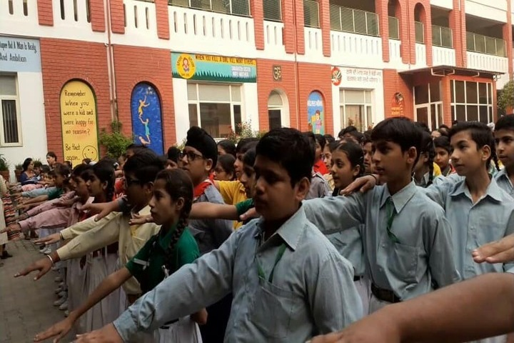 Shiv Jyoti Public School-Assembly