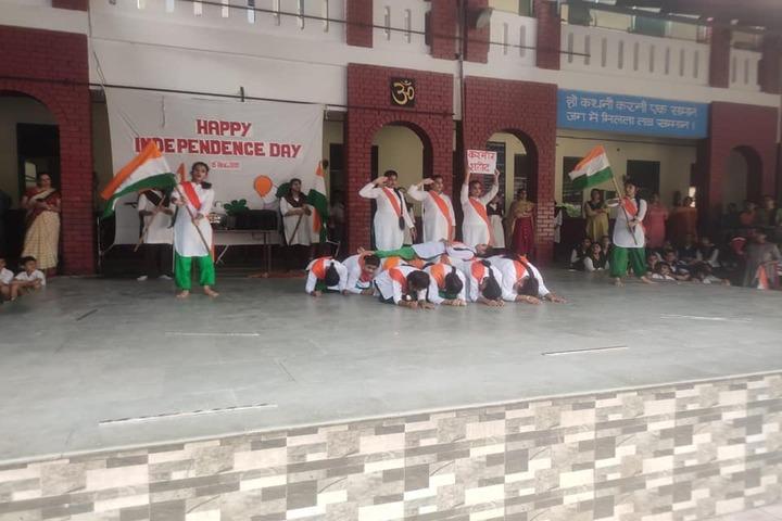 Shiv Jyoti Public School-Independance Day