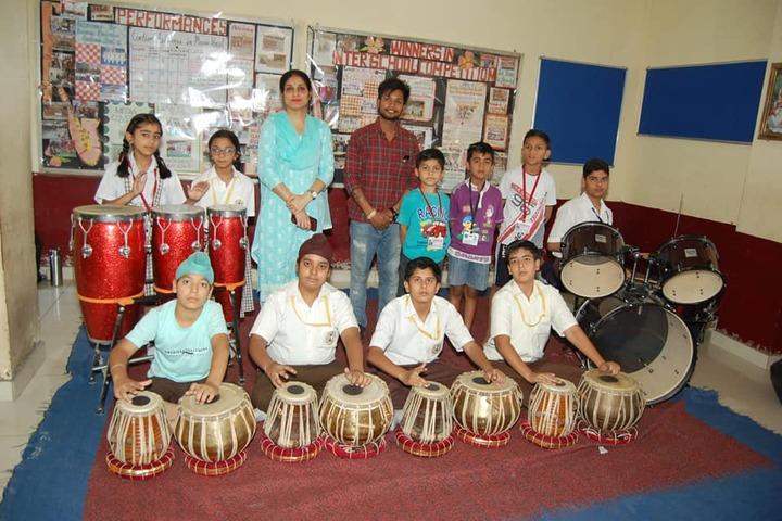 Shiv Jyoti Public School-Music
