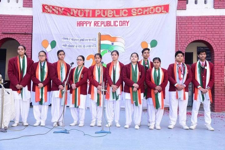 Shiv Jyoti Public School-Republic Day